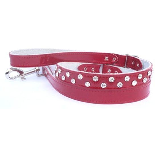 top gun lead in red patent