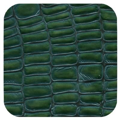 teal green croc
